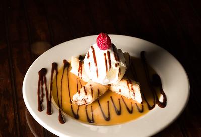 White Chocolate Banana Spring Roll