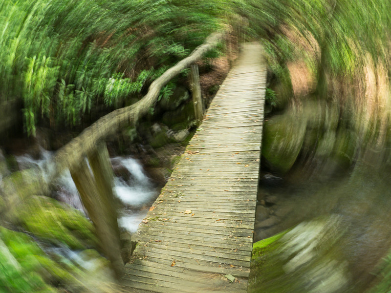 """Another long exposure while rotating the camera. Lots more <a style=""""color: #aaccee"""" href=""""http://williambritten.com/"""">Smoky Mountains Photos</a> and info over on my blog."""