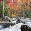 """Wild Autumn Rain-swollen creek in the Greenbrier section of the Great Smoky Mountains. Lots more <a style=""""color: #aaccee"""" href=""""http://williambritten.com/"""">Smoky Mountains Photos</a> and info over on my blog."""