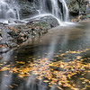 "Spruce Flat Falls The lower portion of Spruce Flat Falls in autumn ... Great Smoky Mountains National Park. Lots more <a style=""color: #aaccee"" href=""http://williambritten.com/"">Smoky Mountains Photos</a> and info over on my blog."