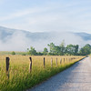 "Cades Cove Morning Early morning light along Hyatt's Lane in the Cades Cove area of the Great Smoky Mountains. Lots more <a style=""color: #aaccee"" href=""http://williambritten.com/"">Smoky Mountains Photos</a> and info over on my blog."