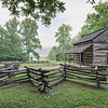 "John Oliver Cabin Panorama Lots more <a style=""color: #aaccee"" href=""http://williambritten.com/"">Smoky Mountains Photos</a> and info over on my blog."