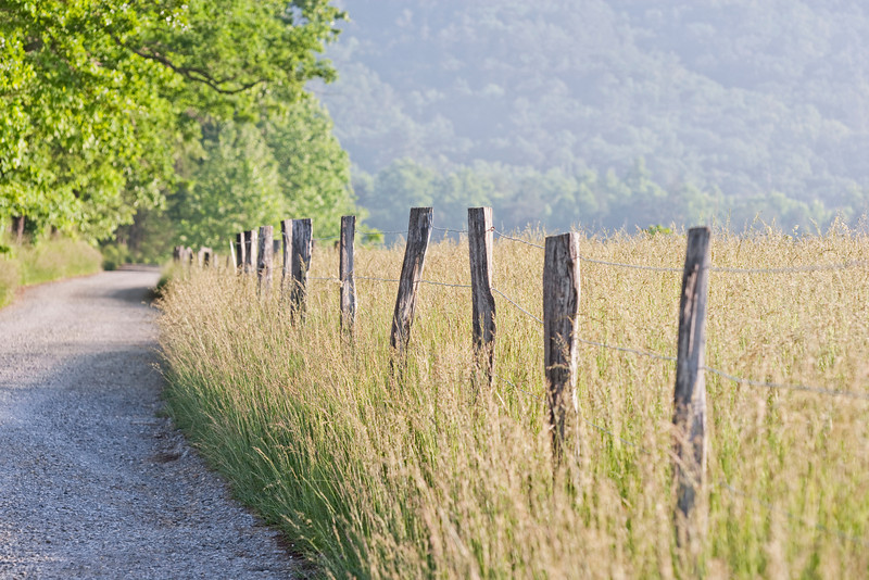 """Sparks Lane Fence, Cades Cove Lots more <a style=""""color: #aaccee"""" href=""""http://williambritten.com/"""">Smoky Mountains Photos</a> and info over on my blog."""