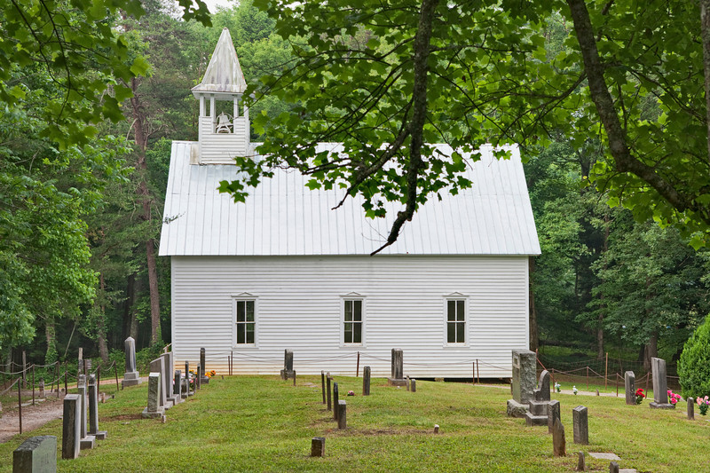 """Methodist Church in Cades Cove Lots more <a style=""""color: #aaccee"""" href=""""http://williambritten.com/"""">Smoky Mountains Photos</a> and info over on my blog."""