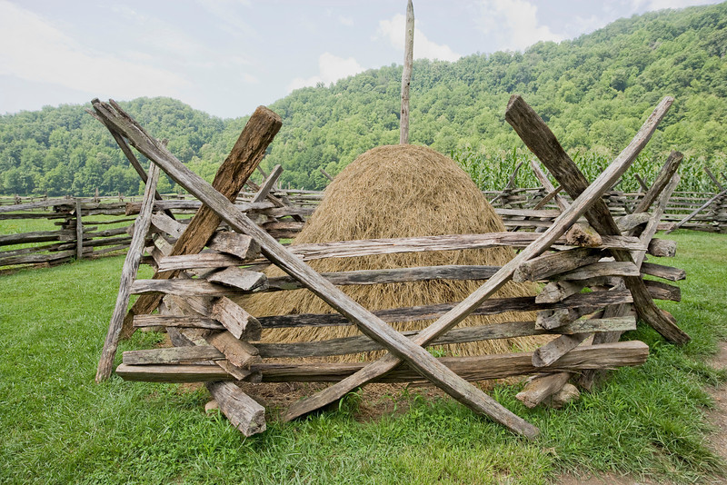 """Smoky Mountains Haystack Lots more <a style=""""color: #aaccee"""" href=""""http://williambritten.com/"""">Smoky Mountains Photos</a> and info over on my blog."""