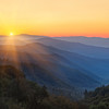 "Morning Majesty.  Smoky Mountains sunrise near Newfound Gap. Lots more <a style=""color: #aaccee"" href=""http://williambritten.com/"">Smoky Mountains Photos</a> and info over on my blog."