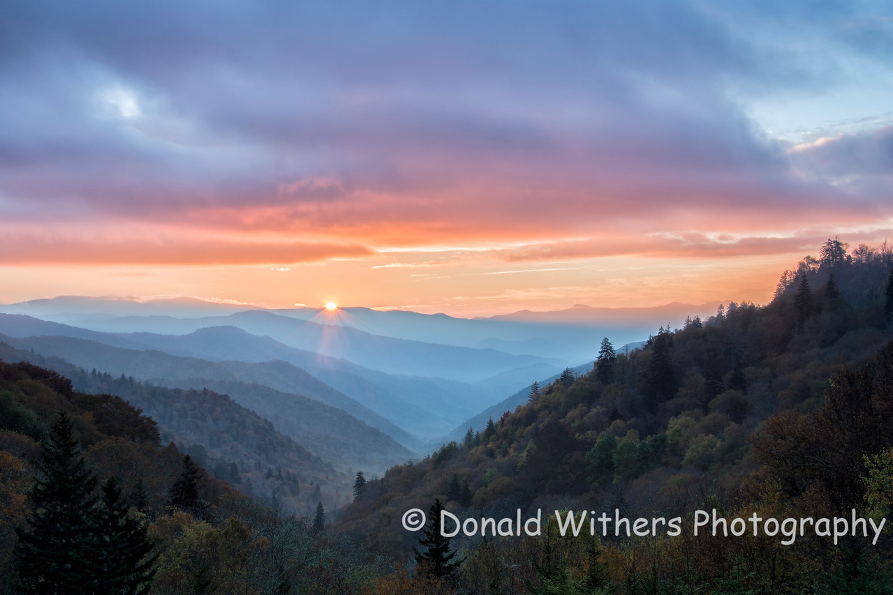 Tennessee Mountain Sunrise
