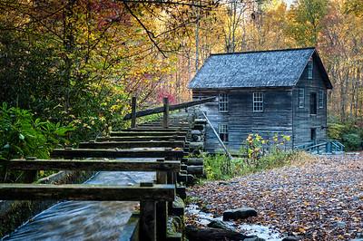 Autumn at Mingus Mill
