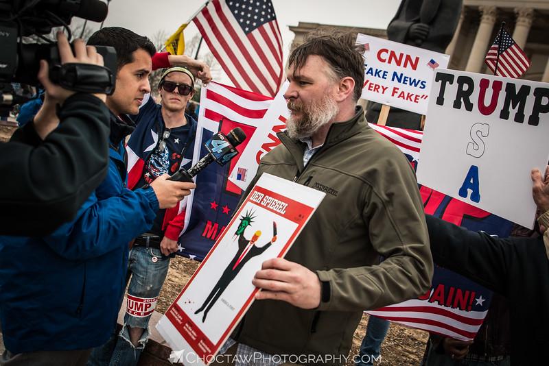 Trump Protester