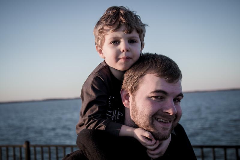 Father & Son Bonding