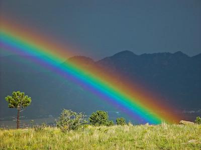 Rainbow over Plumb's