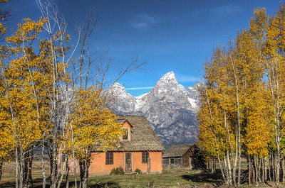 Mormon Row Homestead   Grand Teton NP