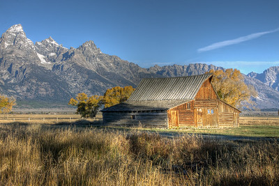 Moulton's Barn,  Mormon Row    Grand Teton NP