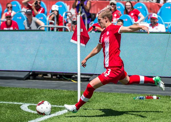 Team Canada vs Costa Rica, June 11, 2017