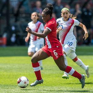 Team Canada vs Costa Rica, June 11, 2017