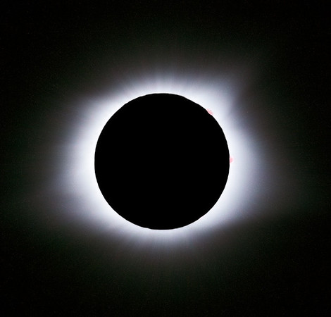 Glowing Totality // Solar Eclipse
