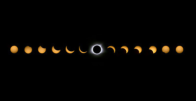 Solar Eclipse Phases // Felt, Idaho