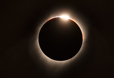 Golden Eclipse // Diamond Ring