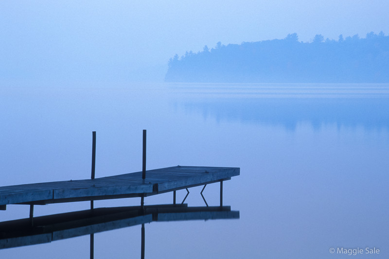Dock at Dawn, Lake of Bays, Ontario