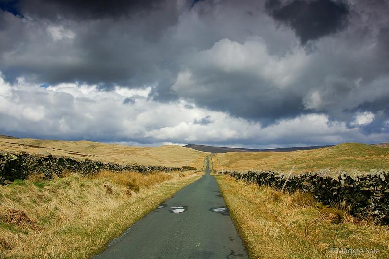 Road to Bullpot, Yorkshire, England