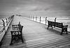 Waiting, Saltburn Pier, England