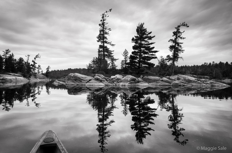 French River Reflection, Ontario