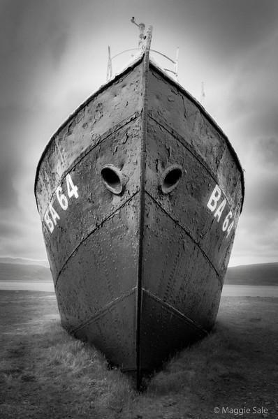 Shipwreck, Iceland
