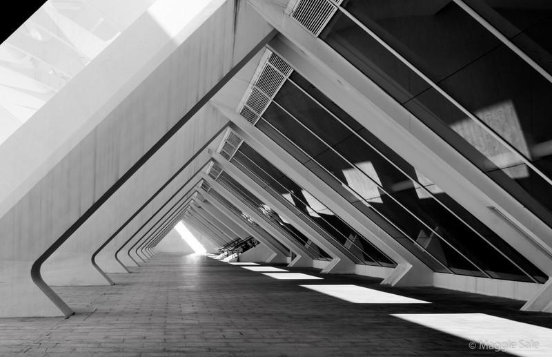 Museum Walkway, Valencia, Spain