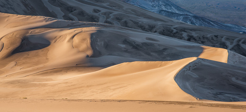 """Dunes to Mountains, Light into Shadows"""