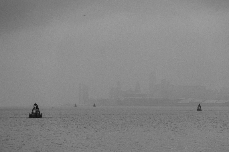 Liverpool in the gloom