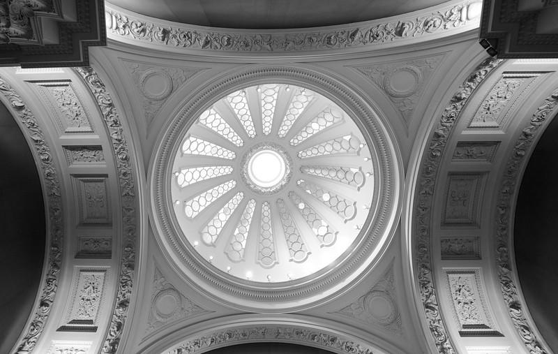 Ceiling of Fitzwilliam Museum, Cambridge