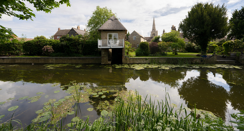 By the River Ouse in Godmanchester, Cambridgeshire