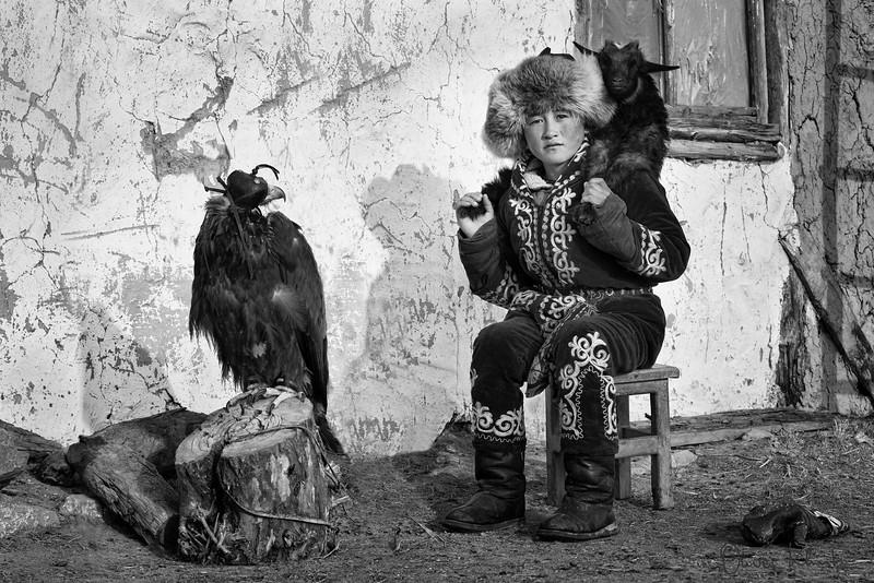 Khairat - Young Eagle Hunter
