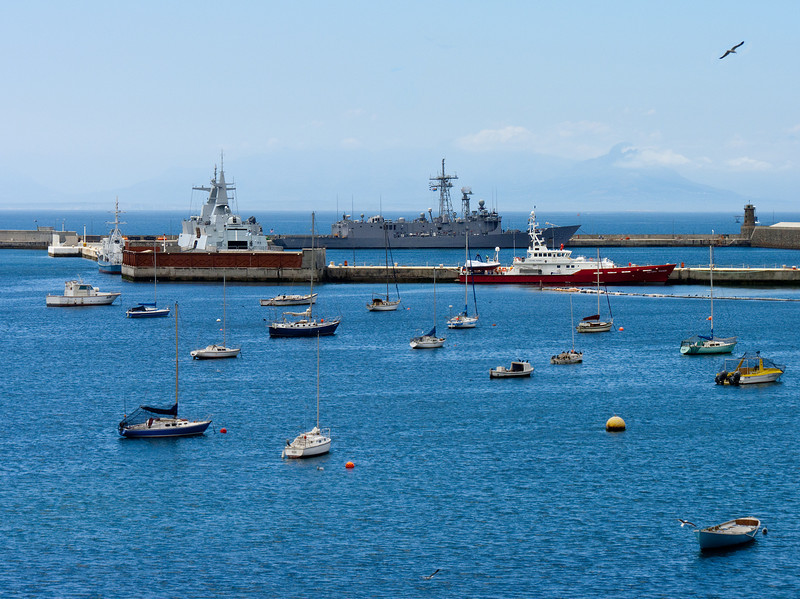 Simonstown harbor...a naval base