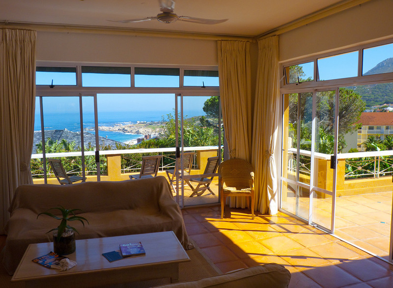 Our amazing Cape Town Villa. Mountain and sea views that couldnt be beat.