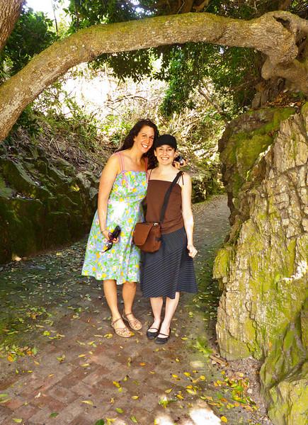 Kimberly and Jennifer in Knysna