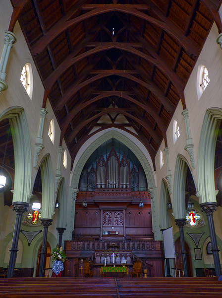 Methodist church in downtown Cape Town, by the greenmarket
