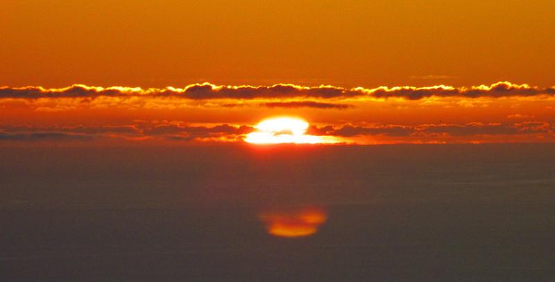 Sun sets over Antarctica. Trip of a lifetime!