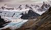 Piedras Blancas Glacier Lookout and Mt Fitz Roy, Parque National Park