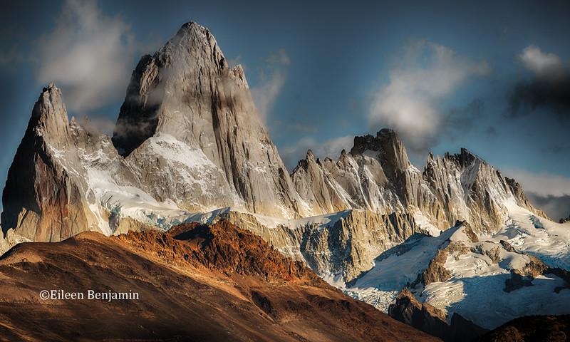 Mt. Fitz Roy, Parque National Park, Argentina