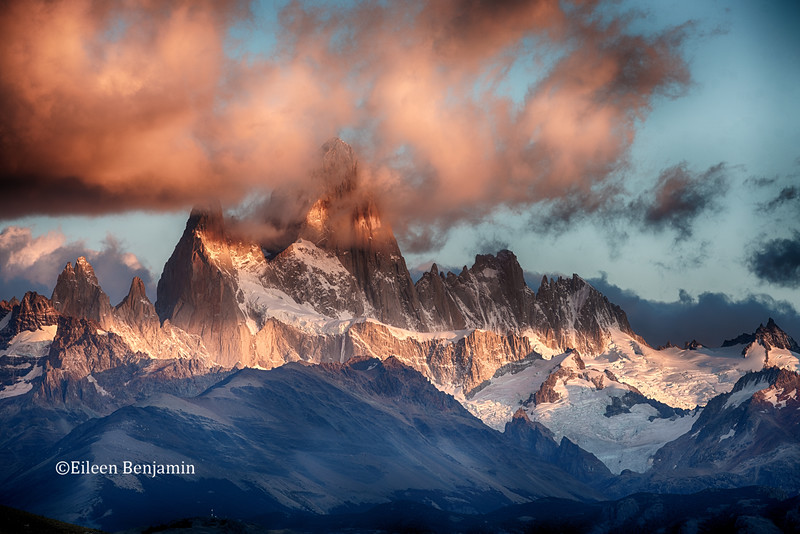 Mt. Fitz Roy, Parque National Park, Argentina