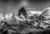 Piedras Blancas Glacier Lookout and Mt Fitz Roy, Parque National Park