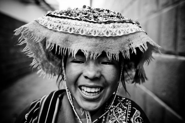 Quechua girl