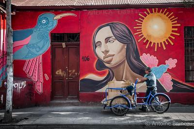 Santiago - Bellavista neighborhood