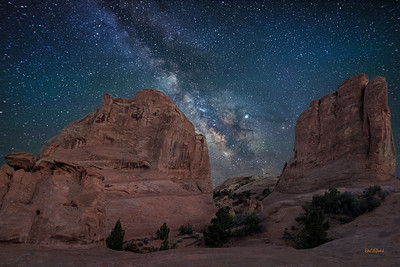 Night Sky - Arches National Park