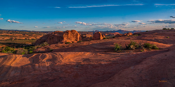 Glow of Sunset - Arches National Park