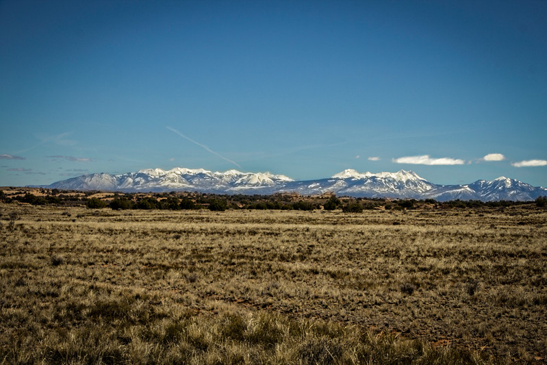 Canyonlands to La Sal mountains