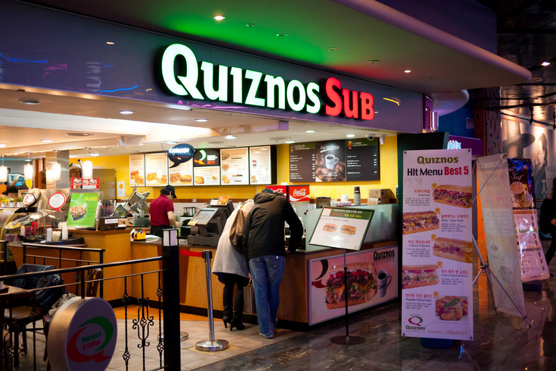 I didn't see too many Quiznos' in my Seoul travels.