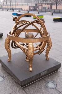 Model of a Korean celestial globe.