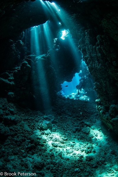 Cavern with Sunbeams